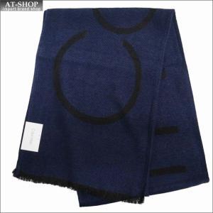 Calvin Klein カルバンクライン マフラー HKC83621-411 NAVY ネイビー|at-shop