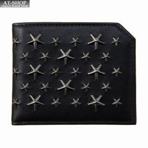 ジミー・チュウ JIMMY CHOO 財布サイフ 二つ折り財布 ALBANY BLS BLACK|at-shop