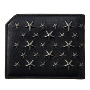 ジミー・チュウ JIMMY CHOO 財布サイフ 二つ折り財布 ALBANY BLS BLACK at-shop 02