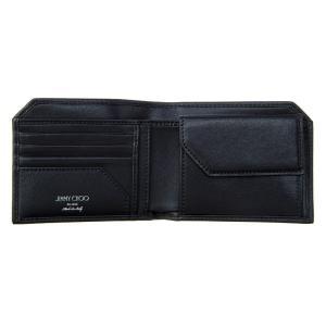 ジミー・チュウ JIMMY CHOO 財布サイフ 二つ折り財布 ALBANY BLS BLACK at-shop 03