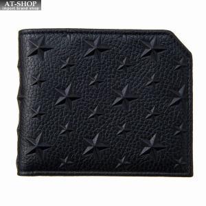 ジミー・チュウ JIMMY CHOO 財布サイフ 二つ折り財布 ALBANY EMG BLACK at-shop