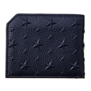 ジミー・チュウ JIMMY CHOO 財布サイフ 二つ折り財布 ALBANY EMG NAVY at-shop 02