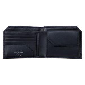 ジミー・チュウ JIMMY CHOO 財布サイフ 二つ折り財布 ALBANY EMG NAVY at-shop 03