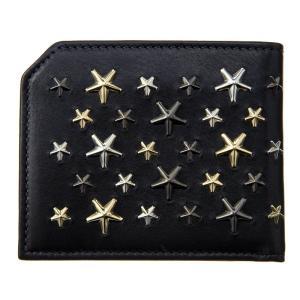 ジミー・チュウ JIMMY CHOO 財布サイフ 二つ折り財布 ALBANY LTR BLACK|at-shop|02