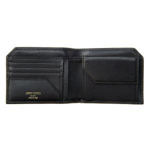 ジミー・チュウ JIMMY CHOO 財布サイフ 二つ折り財布 ALBANY LTR BLACK|at-shop|03