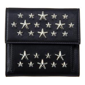 ジミー・チュウ JIMMY CHOO 財布サイフ 二つ折り財布 FRIDA CST BLACK at-shop 02