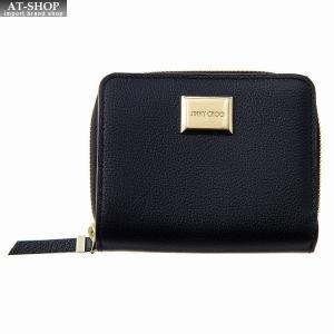 ジミー・チュウ JIMMY CHOO 財布サイフ 二つ折り財布 MIROSE GFH BLACK|at-shop