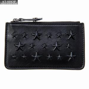 ジミー・チュウ JIMMY CHOO 財布サイフ 小銭入れ コインケース NANCY ENL BLACK-BLACK|at-shop