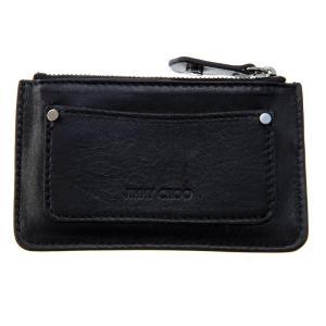 ジミー・チュウ JIMMY CHOO 財布サイフ 小銭入れ コインケース NANCY ENL BLACK-BLACK|at-shop|02