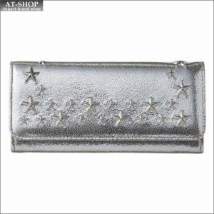 ジミー・チュウ JIMMY CHOO 財布サイフ 二つ折り長財布 NINO GTU CHAMPAGNE|at-shop