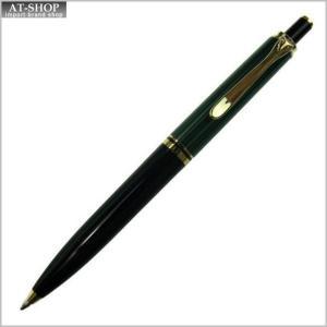 Pelikan ペリカン ボールペン スーベレーン K400 グリーン縞