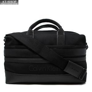 CALVIN KLEIN カルバンクライン ショルダーバッグ K50K ブラック ボストンバッグ メンズ|at-shop