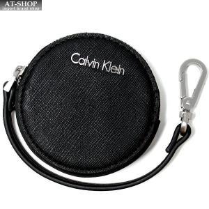 CALVIN KLEIN カルバンクライン コインケース K60K 小銭入れ コインポーチ レザー レディース|at-shop