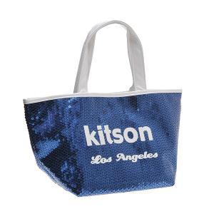 KITSON キットソン バッグ スパンコール ミニトートバッグ 3559 ネイビー at-shop