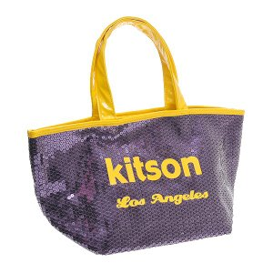 KITSON キットソン バッグ スパンコール ミニトートバッグ 3560 パープル at-shop