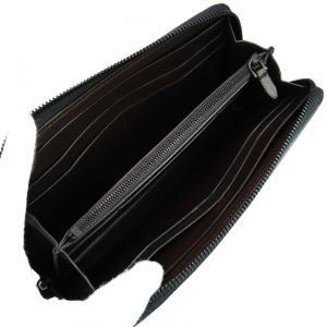 DUNHILL ダンヒル 財布サイフ CHASSIS ラウンドファスナー長財布 L2A218A カーボンブラック|at-shop|02