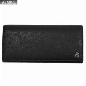 DUNHILL ダンヒル 財布サイフ CADOGAN 二つ折り長財布 L2AC10A ブラック|at-shop