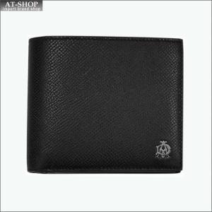 DUNHILL ダンヒル 財布サイフ CADOGAN 二つ折り財布  L2AC32A ブラック|at-shop