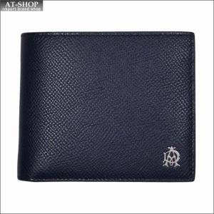 DUNHILL ダンヒル 財布サイフ CADOGAN 二つ折り財布  L2AC32N ネイビー|at-shop