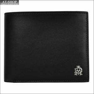 DUNHILL ダンヒル 財布サイフ WESSEX 二つ折り財布 L2AS32A ブラック|at-shop