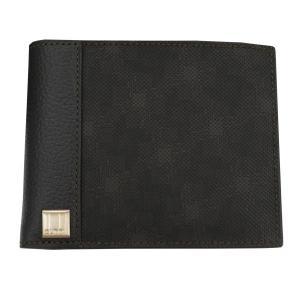DUNHILL ダンヒル 財布サイフ D-EIGHT 二つ折り財布 (小銭入れ有) L2H732B ブラウン|at-shop