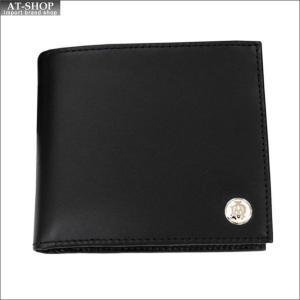 DUNHILL ダンヒル 財布サイフ GINZA 二つ折り財布(小銭入れ有) L2LJ32A ブラック|at-shop