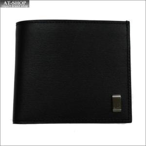 DUNHILL ダンヒル 財布サイフ SIDECAR 二つ折り財布 L2RF32A ブラック|at-shop