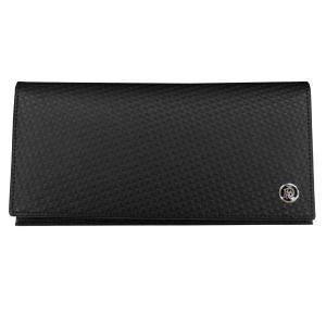 DUNHILL ダンヒル 財布サイフ MICRO D-EIGHT 二つ折り長財布 L2V312A ブラック|at-shop