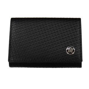 DUNHILL ダンヒル 財布サイフ MICRO D-EIGHT 小銭入れ コインケース L2V380A ブラック|at-shop