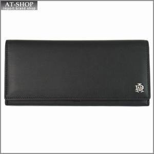 DUNHILL ダンヒル 財布サイフ REEVES 二つ折り長財布 L2XR10A ブラック|at-shop