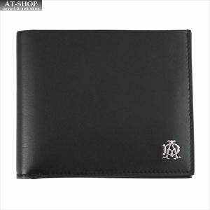 DUNHILL ダンヒル 財布サイフ REEVES 二つ折り財布 L2XR30A ブラック|at-shop