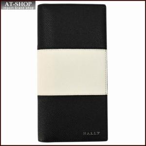 BALLY バリー 財布サイフ 二つ折り長財布 LALIRO BOLD カラー00 BLACK 6205510 ブラック|at-shop
