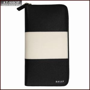 BALLY バリー 財布サイフ ラウンドファスナー長財布 LALIRO BOLD カラー00 BLACK 6205521 ブラック|at-shop