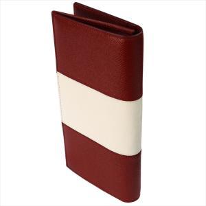 BALLY バリー 財布サイフ 二つ折り長財布 LALIRO BOLD カラー06 BALLY RED 6205512 レッド|at-shop|02