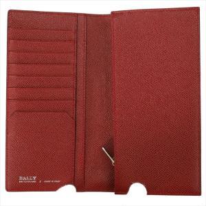 BALLY バリー 財布サイフ 二つ折り長財布 LALIRO BOLD カラー06 BALLY RED 6205512 レッド|at-shop|03