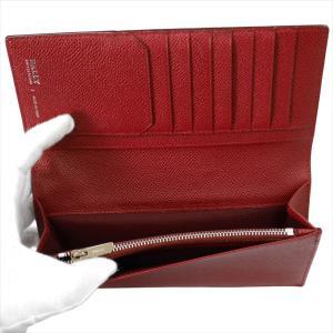BALLY バリー 財布サイフ 二つ折り長財布 LALIRO BOLD カラー06 BALLY RED 6205512 レッド|at-shop|04
