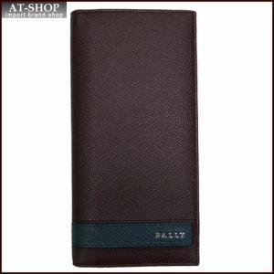 BALLY バリー 財布サイフ LALTYL.L 6208035 MERLOT 二つ折り長財布 ワインレッド|at-shop