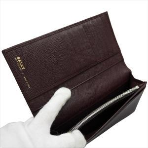 BALLY バリー 財布サイフ LALTYL.L 6208035 MERLOT 二つ折り長財布 ワインレッド|at-shop|02