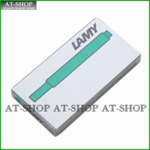 ラミー LAMY 万年筆用 カートリッジインク 5本セット LT10 グリーン at-shop