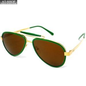 GaGa MILANO ガガミラノ サングラス LU54ACGRGO0 GREEN FL メンズ レディース|at-shop