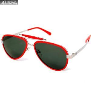 GaGa MILANO ガガミラノ サングラス LU54ACRD000 RED メンズ レディース|at-shop
