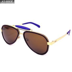 GaGa MILANO ガガミラノ サングラス LU54TCGOBLN BLUE メンズ レディース|at-shop