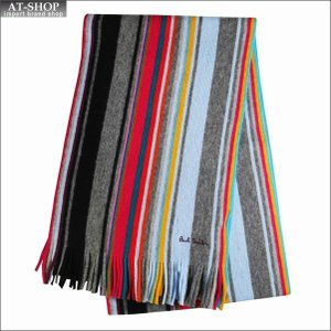 Paul Smith ポール・スミス マフラー FENNEL STRIPE M1A-353E-AS10-70 2018AW|at-shop