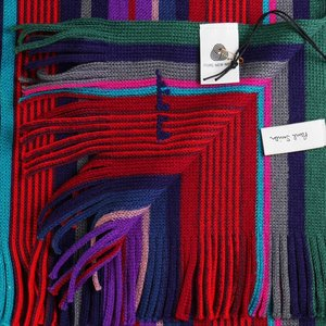 Paul Smith ポール・スミス マフラー GRND WOOL STRP M1A-354E-AS10-28 2018AW|at-shop|02