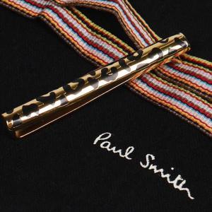 Paul Smith ポール・スミス ネクタイピン タイバー M1A-TPIN-AASKIN MEN TIE PIN ANIMAL SKIN 83 ゴールド×ブラック at-shop 03