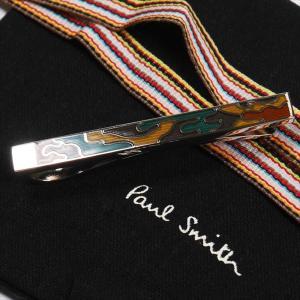 Paul Smith ポール・スミス ネクタイピン タイバー M1A-TPIN-ACAMO MEN TIE PIN CAMOUFLAGE 63 シルバー×マルチカラー|at-shop|03