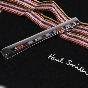 Paul Smith ポール・スミス ネクタイピン タイバー M1A-TPIN-AFINER M1A TIE PIN FINER 92 シルバー×マルチカラー|at-shop|03