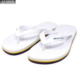PAUL SMITH ポールスミス ビーチ サンダル M2S DAL07 AEVA DALE WHITE PSロゴ 【Sサイズ/JPサイズ:25.0cm】|at-shop