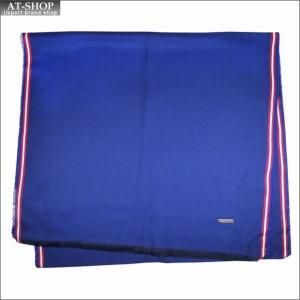 BALLY バリー マフラー M7D043F-6212415 ブルー|at-shop