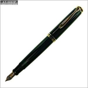 Pelikan ペリカン 万年筆 スーベレーン M800 ブラック ペン先 M:中字|at-shop